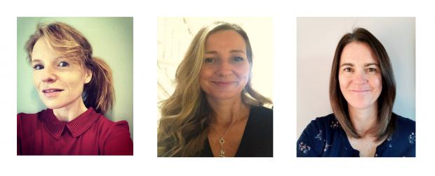 Three photos of the three Local DSP Regional Coordinators