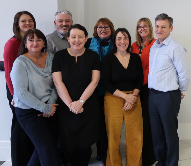Photo of the The Lancashire Skills and Employment Hub Team