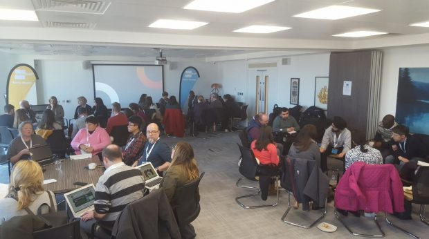 image of attendees at a regional Google Digital Garage training session